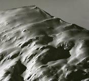 virgin alp peaks in fresh snow royalty free stock image