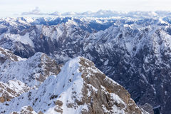 Alps in Austrian Royalty Free Stock Image