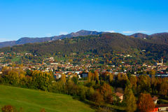 Alps at autumn, Italy Stock Image