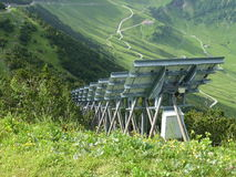 Alps av Malbun arkivfoton