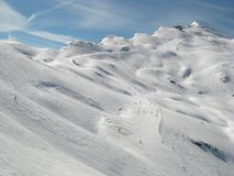 Alps in Avoriaz Stock Photos