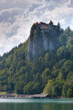 alps avtappade den julian laken slovenia Arkivbilder
