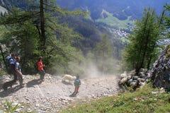 Alps bacy festiwal Zdjęcie Royalty Free