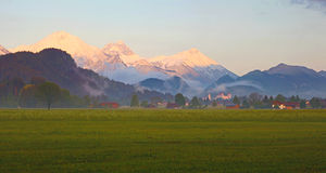 Alps in Bavaria, Germany Royalty Free Stock Image