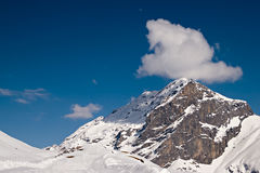 The Alps. Beautiful view over mountains in the Swiss Alps. Engelberg, Switzerland stock photos