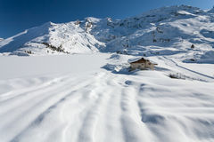 The Alps. Beautiful view over mountains in the Swiss Alps. Titlis, Switzerland stock images