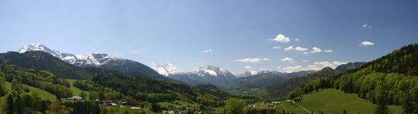 alps berchtesgaden Arkivbild