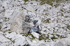 alps biwakują szczyt jalovec szczyt Obraz Royalty Free