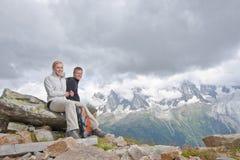 Alps Chamonix Royalty Free Stock Photos