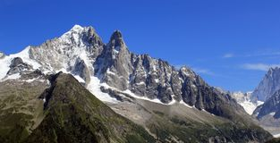 Alps, Chamonix, France Stock Photo