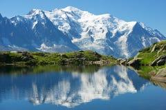 Alps in Chamonix stock photos