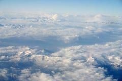 alps chmury Zdjęcia Royalty Free
