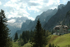 Alps, the Dachstein mountain range Royalty Free Stock Images