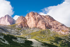 alps dolomit Italy Obraz Stock