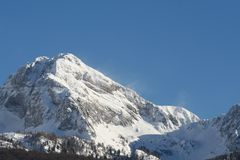 Alps - Dolomites - Italy Stock Image