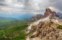Alps Dolomites, Italy Royalty Free Stock Photo
