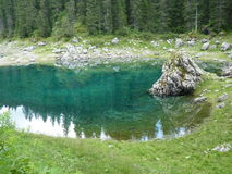Alps dolomiti fotografia stock