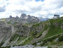 Alps dolomiti obrazy royalty free