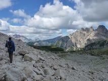 Alps dolomiti obraz stock