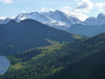 Alps dolomiti. Italian alps in Summer, 2016 Stock Images