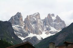 Alps - Dolomiti - Italy. View of Alps Dolomiti Italy stock photos