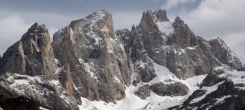 Alps - Dolomiti - Italy. View of Alps Dolomiti Italy stock photo