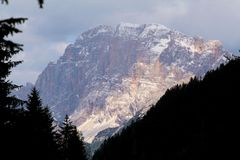 Alps - Dolomiti - Italy. View of Alps Dolomiti Italy royalty free stock photos