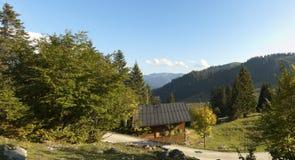 alps europiean budy spitzingsee Zdjęcie Royalty Free