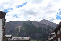 Alps far away. In Italy Stock Photo