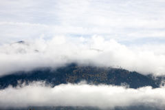 Alps in Fog Stock Photos