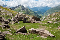 Alps, France (by Col du Bonhomme) Stock Images