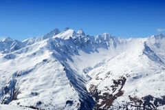 Alps in France Stock Photography