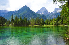 Alps gór krajobraz Obrazy Royalty Free
