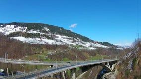 Alps, gastein stock video