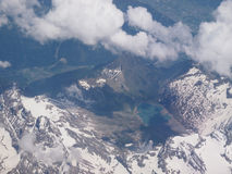 Alps glacier Stock Photos