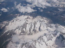 Alps glacier Stock Images