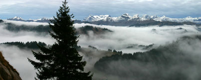 Alps of Glarus Royalty Free Stock Photos