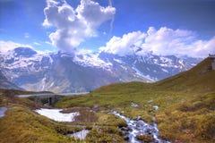 Alps. Gross National Park, Kaprun, Austria Royalty Free Stock Photography