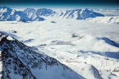 Alps i Frankrike royaltyfri foto
