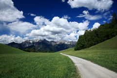 Alps in Innsbruck,Austria Royalty Free Stock Image