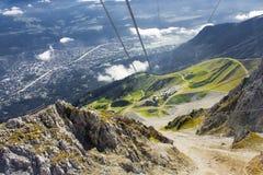 The Alps at Innsbruck Stock Photos