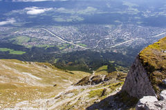 The Alps at Innsbruck Stock Images