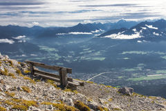 The Alps at Innsbruck Stock Photography
