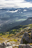 The Alps at Innsbruck Royalty Free Stock Photo