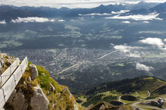 The Alps at Innsbruck Royalty Free Stock Image