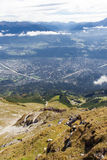 The Alps at Innsbruck Royalty Free Stock Photos