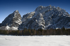 Alps in Italy - Tarvisio - Val Saisera Stock Photography