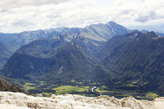 alps julian slovenia Arkivfoton