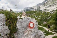 alps julian slovenia Arkivfoto
