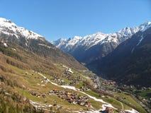 alps krajobraz Zdjęcia Stock